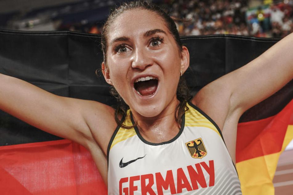Hürdenläuferin Gesa Krause hält ihre Instagram-Fans mit Schnappschüssen auf dem Laufenden.