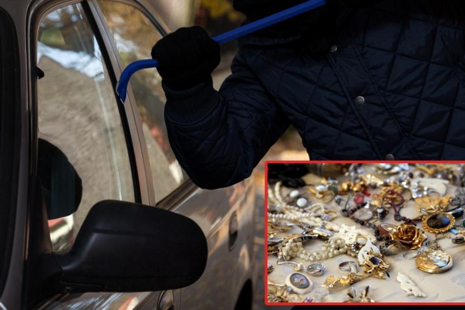 Juwelier war kurz essen: Dieb klaut mehrere Kilo Goldschmuck aus Auto