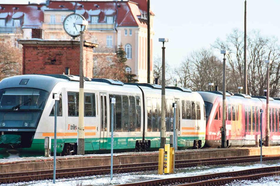 Einen solchen Triebwagen wollte ein Unbekannter vom Bahnhof Görlitz entführen.