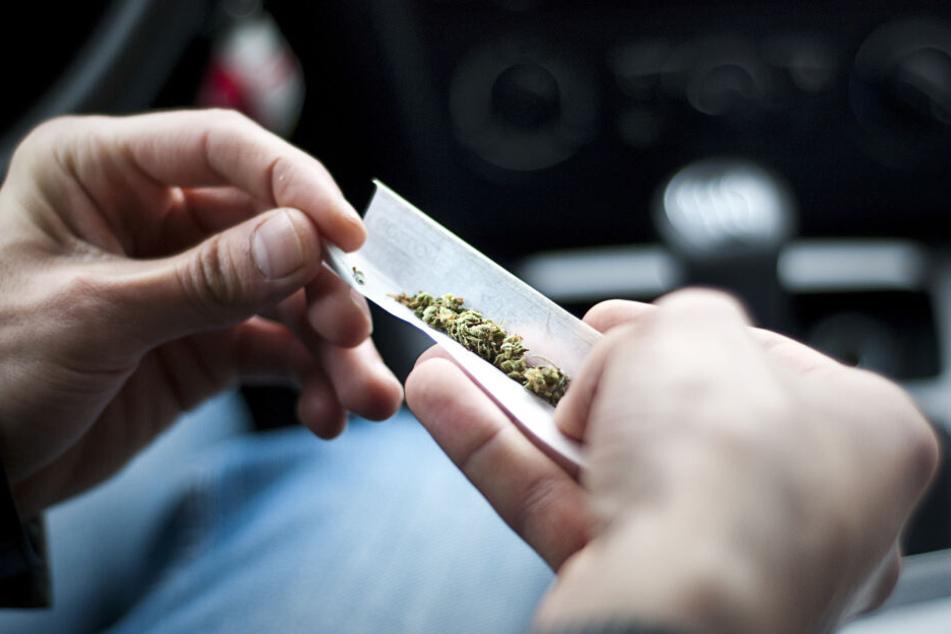 Der Laster-Fahrer hatte Cannabis dabei.