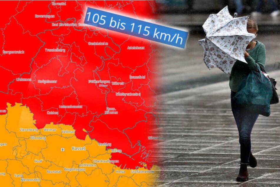 Nördlich von Kassel soll es am schlimmsten werden. (Symbolbild)