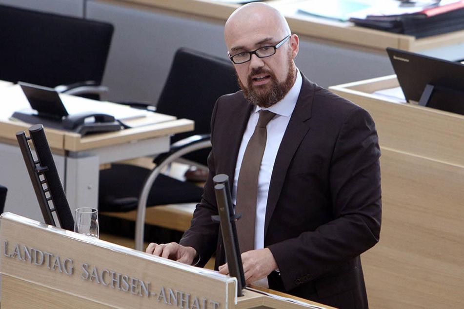 Hans Thomas Tillschneider (39) ist Sprecher der Patriotischen Plattform.