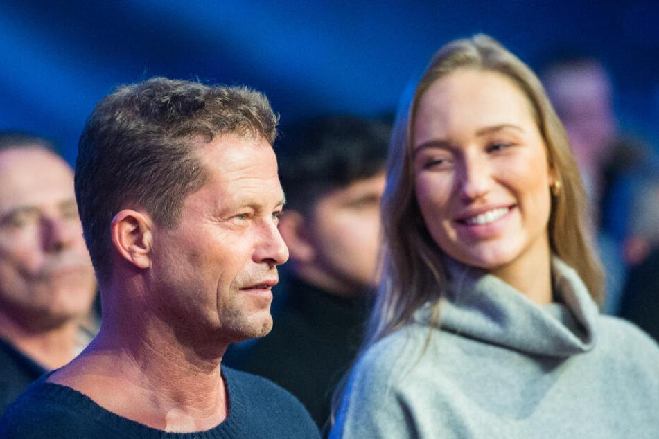 Erstmals zeigte der 56-Jährige seine neue Partnerin bei einer Box-Gala in Hamburg.
