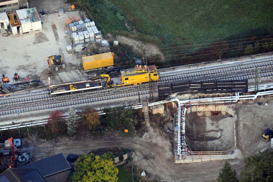 Das gesamte Tunnelbauprojekt verzögert sich wohl bis 2024.