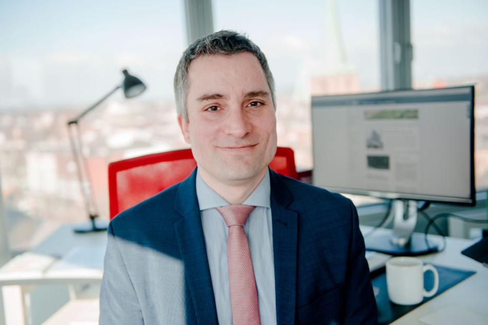 Professor Tobias Singelnstein vom Lehrstuhl für Kriminologie an der Ruhr-Universität Bochum.