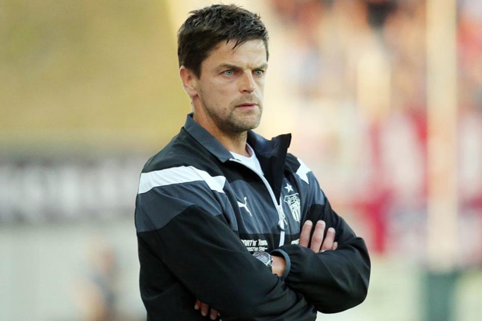 FSV-Trainer Torsten Ziegner zeigte sich wenig begeistert von der Leistung seiner Mannschaft.