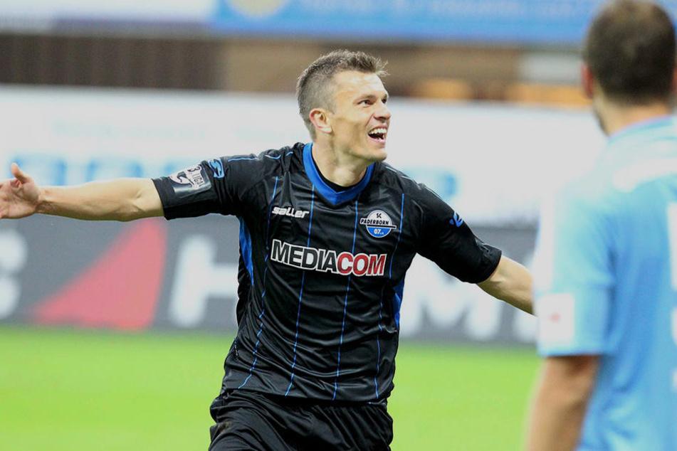 Neuzugang Zlatko Dedic avancierte mit zwei Toren zum Matchwinner des Abends.