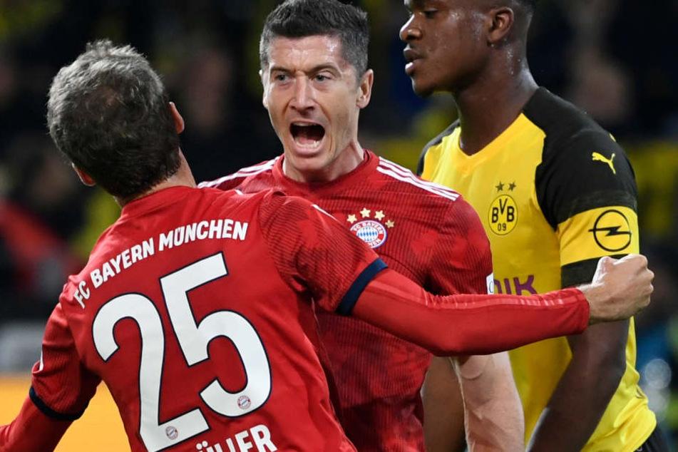 Der FC Bayern und Borussia Dortmund lieferten ein starkes Spiel ab.