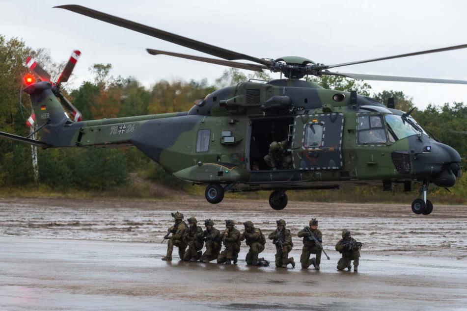Das Zentrum könnte künftig die Versorgung eines neuen Transporthubschraubers der Bundeswehr übernehmen.
