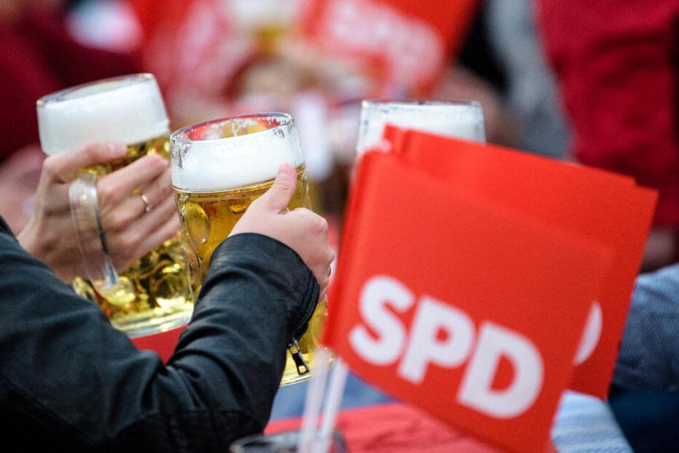 Die SPD landete bei der Europawahl in Bayern gerade einmal bei 9,3 Prozent. (Symbolbild)