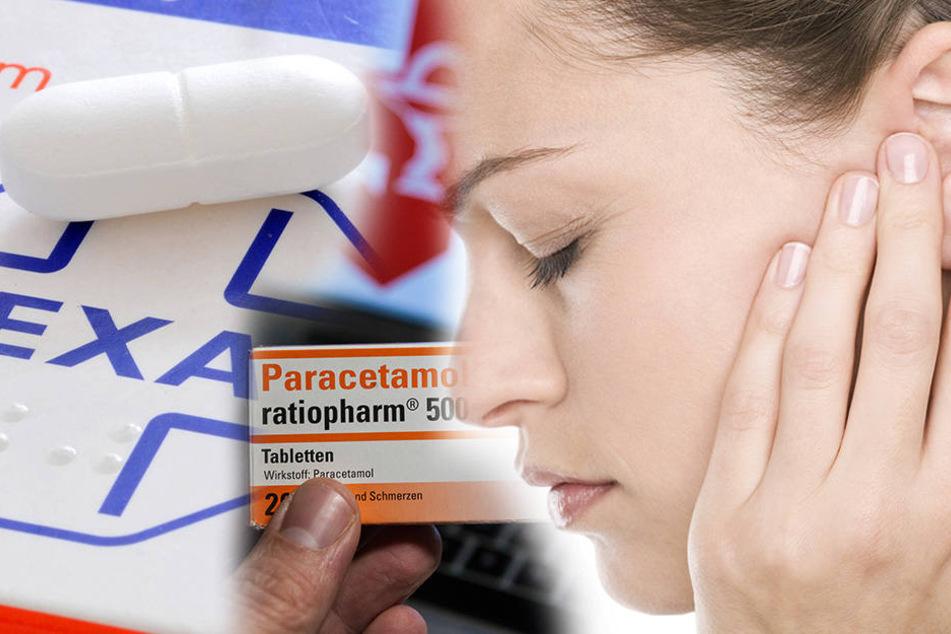 Wer jede Woche zwei Mal zu einem der Schmerzmittel greift, der riskiert schwere Hörschäden bis hin zur Taubheit.