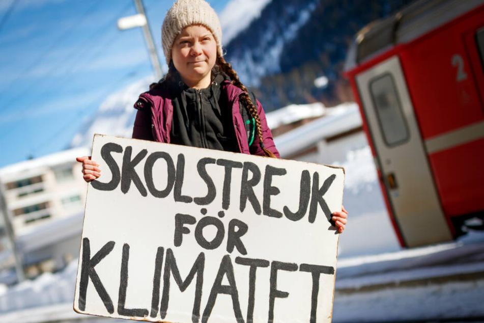 Die schwedische Klimaaktivistin Greta Thunberg wird am Freitag in Hamburg erwartet.