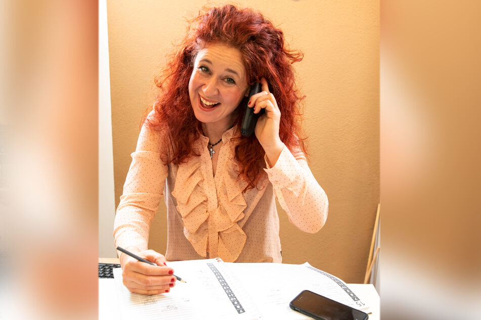 Auftragsbuch voll, Telefon steht nicht still: Jana wird gut zu tun haben, wenn ihr Salon am 1. März wieder öffnet.