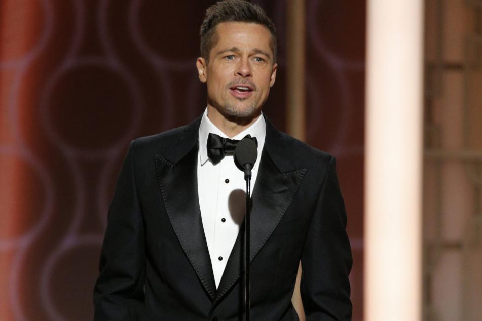 Brad Pitt bei seinem ersten großen Auftritt nach der Trennung von Angelina Jolie.
