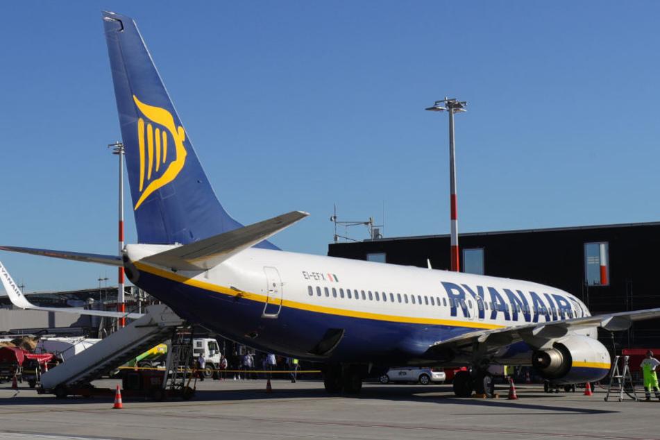 Die Flugzeuge von Ryanair bleiben am Freitag auf dem Boden (Archivbild).