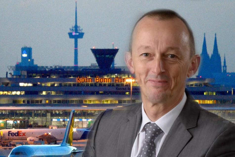 Johan Vanneste wird der neue Chef des Flughafens Köln/Bonn.