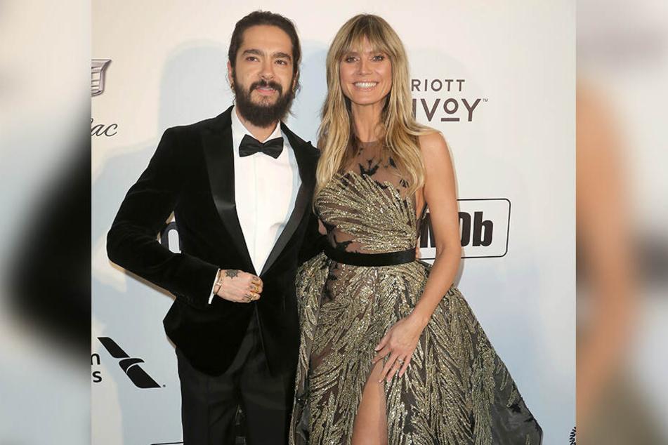So zeigte sich Heidi Klum zusammen mit Tom Kaulitz kurz vor den Oscars.