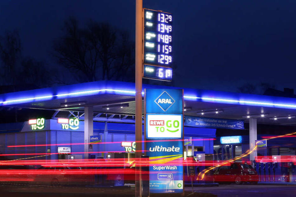 Die üblichen Tankstellen sind deutlich in der Mehrheit.