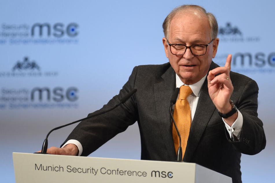 Wolfgang Ischinger ist Chef der Münchner Sicherheitskonferenz.
