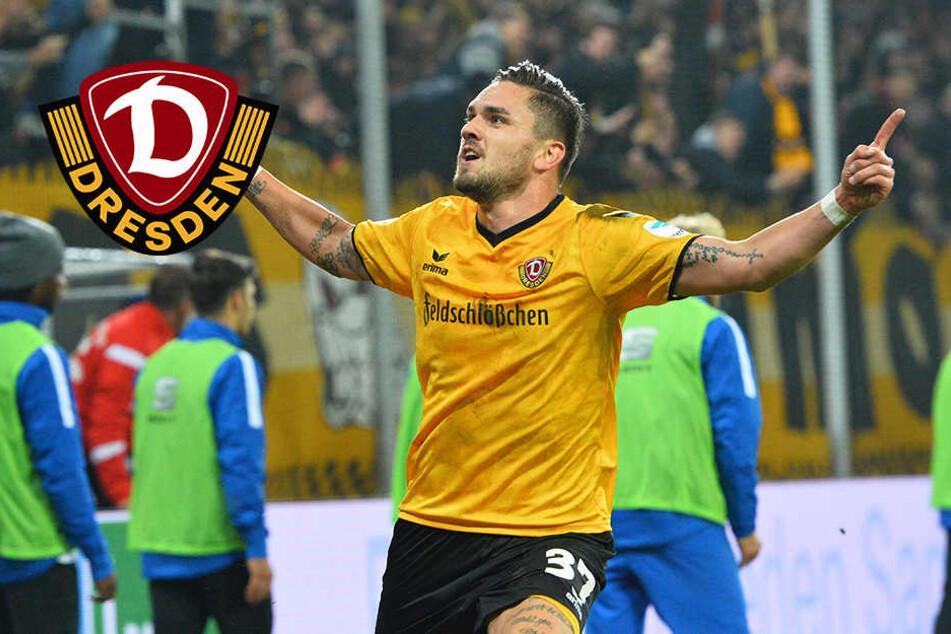 Stürmt Dynamo-Testroet heute gegen seine Ex-Arminia?