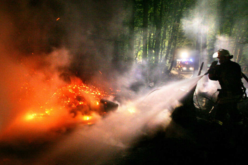 Aufgrund der Trockenheit und der enormen Hitze steigt vielerorts in Bayern die Waldbrandgefahr. (Symbolbild)