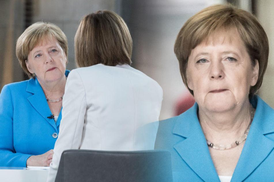 Rücktritt als Kanzlerin? Merkel lässt Vertrauensfrage offen