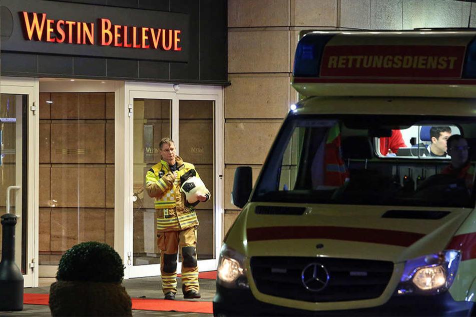 Vor anderthalb Jahren gab es schon einmal einen Feuerwehreinsatz im Hotel Bellevue.