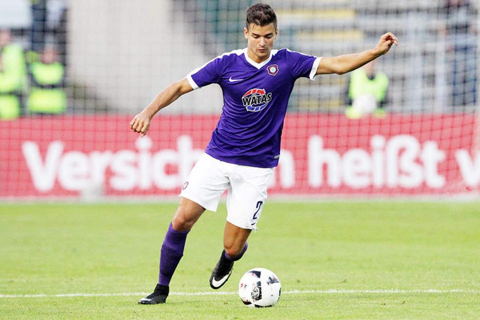 Innenverteidiger Julian Riedel sah die Partie gegen Ingolstadt als ein Duell auf Augenhöhe.