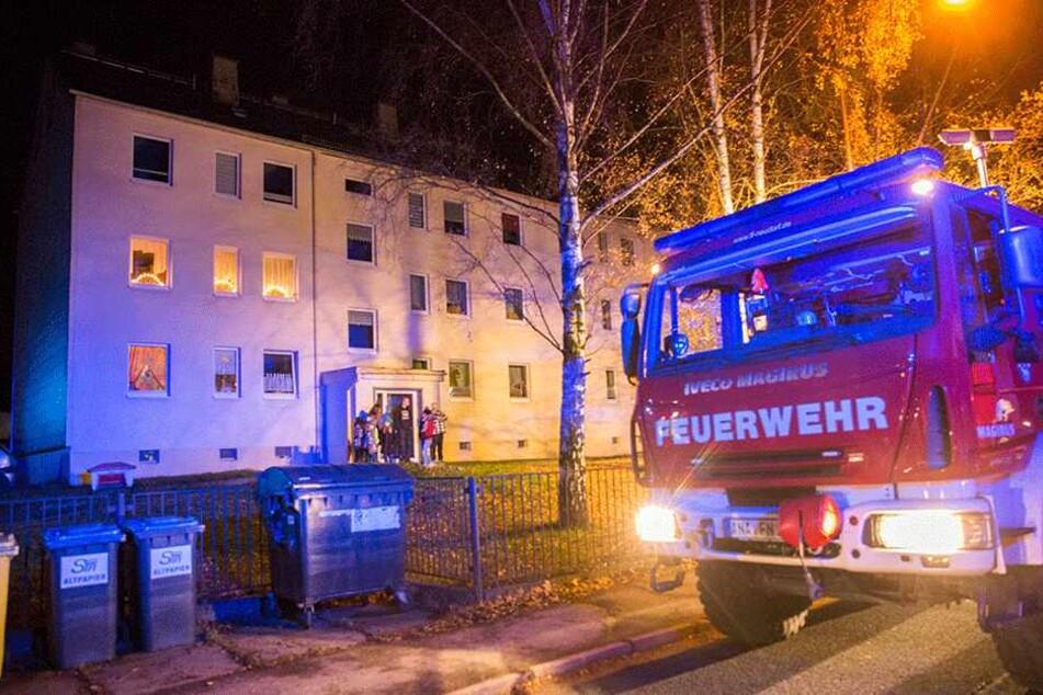 Großeinsatz für die Feuerwehren im Ortsteil Cranzahl.