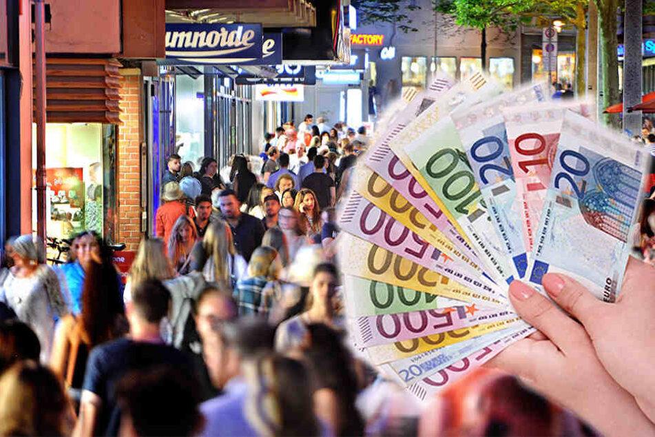 Der Einzelhandel legt schon im achten Jahr in Folge ein Umsatzplus zu. (Symbolbild)