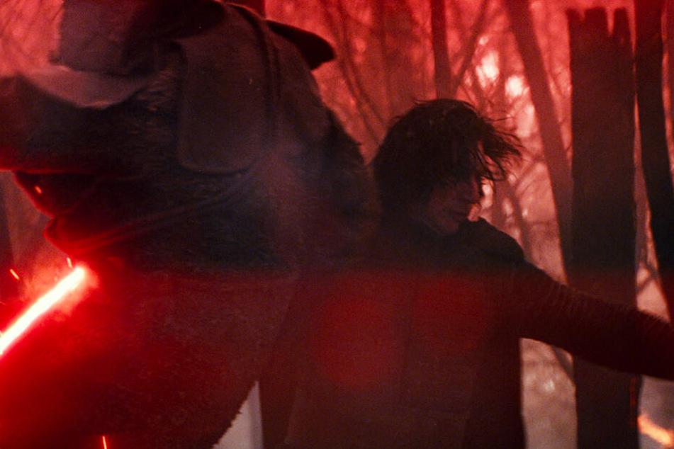 Kylo Ren (Adam Driver) wäre in Trevorrows Fassung auch am Ende noch der Bösewicht gewesen.