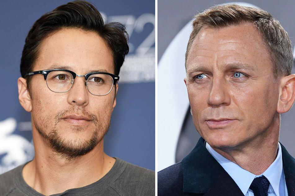 Cary Fukunaga (l., True Detective, Beasts of No Nation) wird beim 25. James Bond Regie führen. Bond selbst wird wieder von Daniel Craig (r.) gespielt.