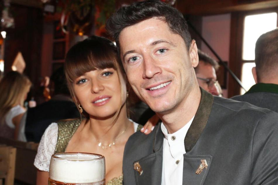 Anna Lewandowska und Ehemann Robert haben bereits ein gemeinsames Kind.