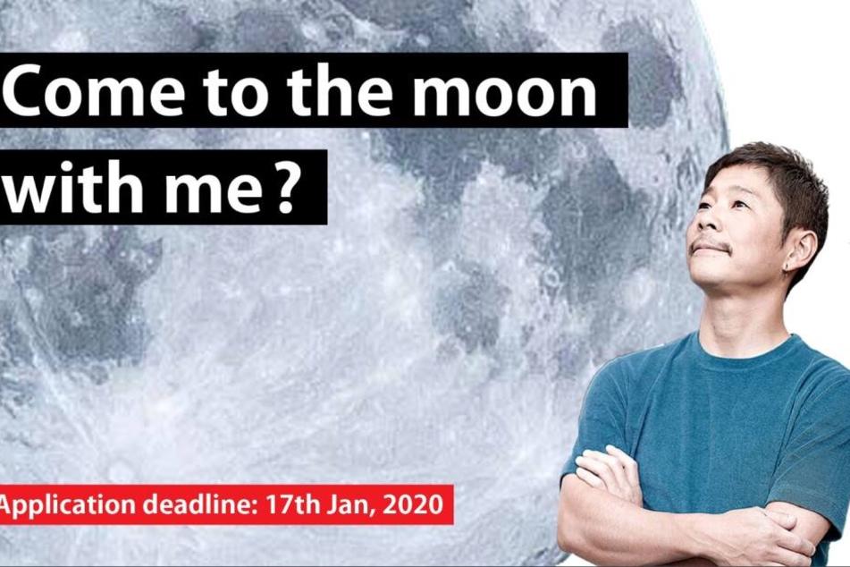 Yusaku Maezawa träumt von Flitterwochen am Mond.