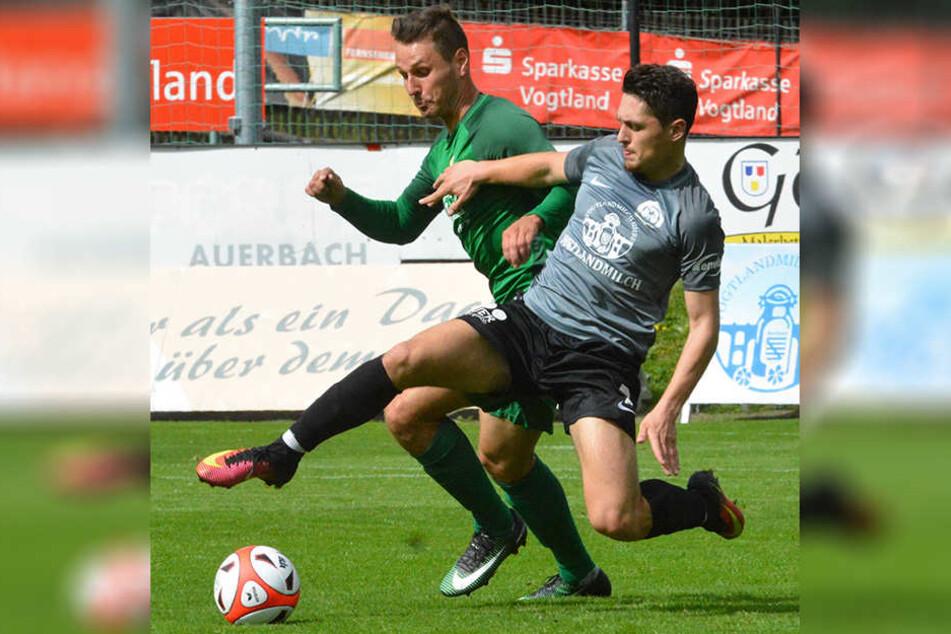 Für Chemie Leipzig gab es beim Tabellennachbarn VfB Auerbach kein Durchkommen.
