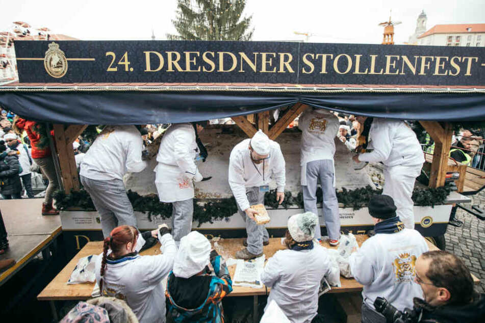 Stollenfest lockt Tausende Besucher an