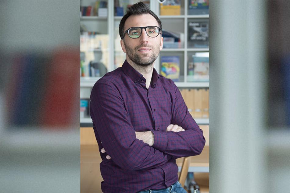 """Politikwissenschaftler Rico Behrens: Er leitete das Projekt """"Starke Lehrer - Starke Schüler""""."""