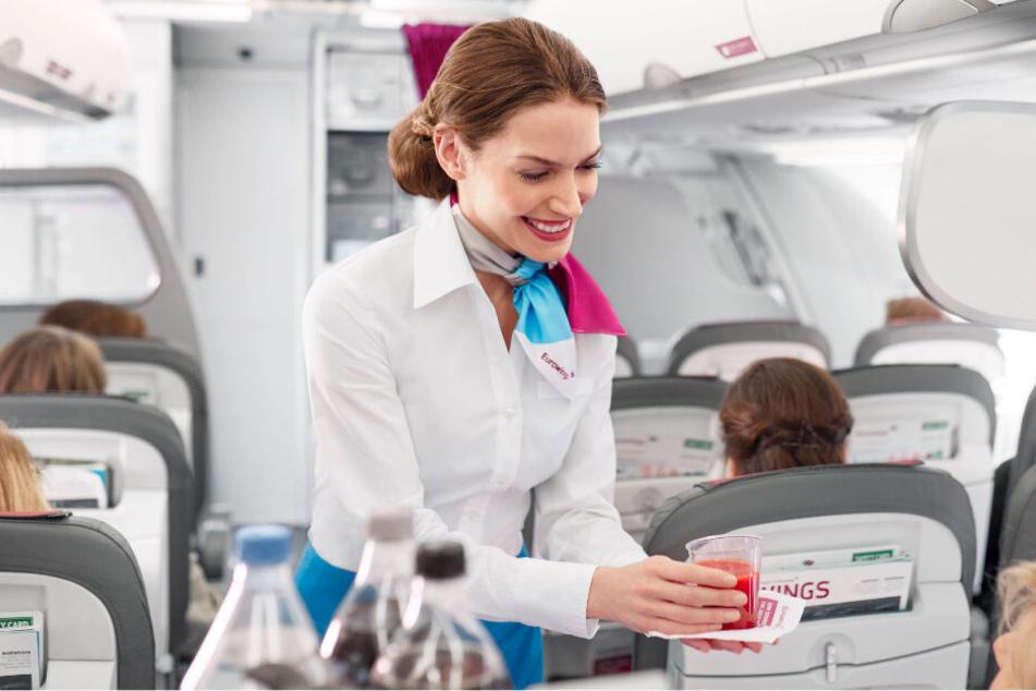 Eurowings will die Streichung der Verpflegung mit dem Priority-Boarding ausgeglichen wird.