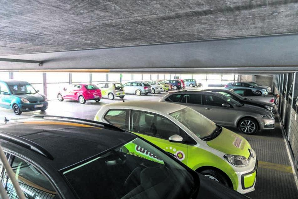 Um drei solche Halbetagen wird das Parkhaus im Frühjahr 2019 erhöht.