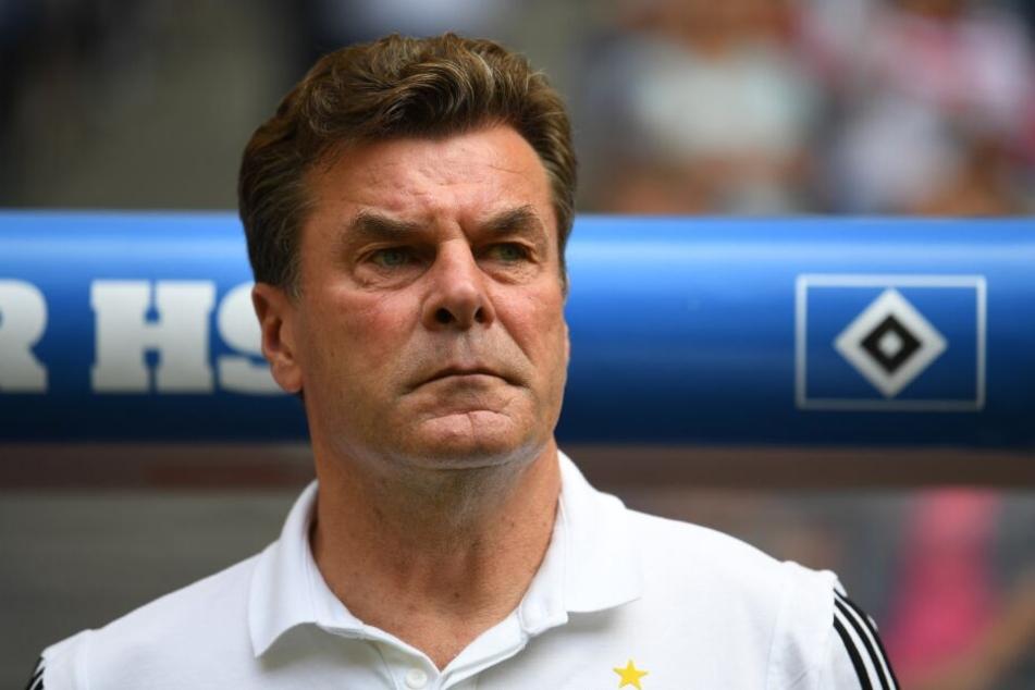 Dieter Hecking will den HSV zurück in die Bundesliga führen.