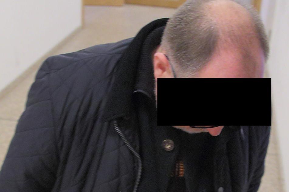 Thomas M. (55) holte sich am Dienstag beim Amtsrichter eine Bewährungsstrafe  ab.