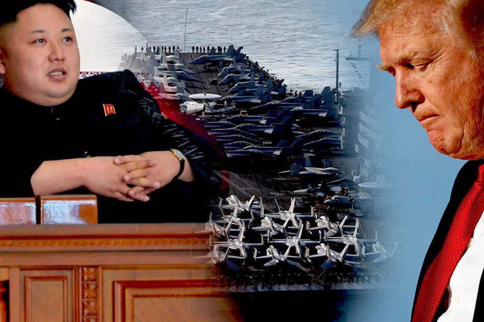 """Nordkorea droht Trump: """"Wir sind zu jeder Art von Krieg bereit!"""""""