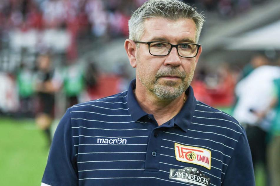 Union-Trainer Urs Fischer (52) will die Serie von vier Spielen ohne Sieg beenden.