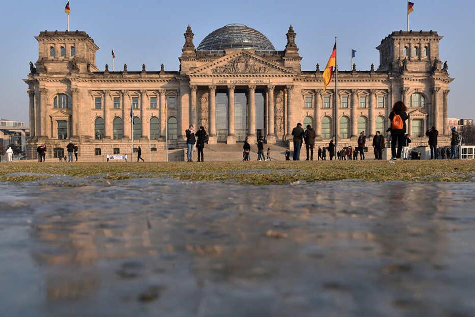 Die Abgeordneten in Berlin haben kein Internet.