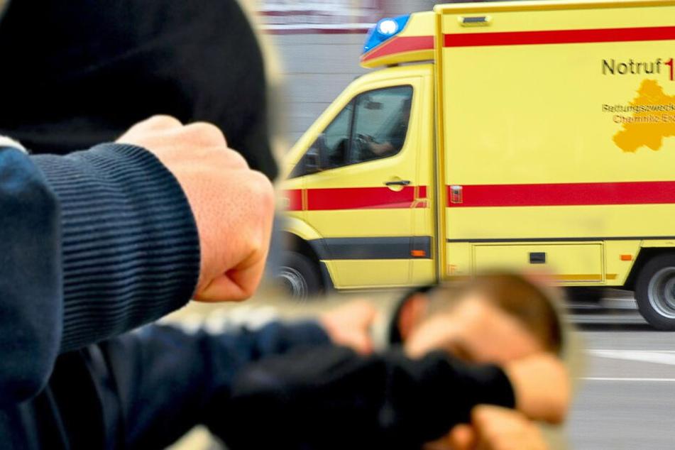 Mehrere Verletzte bei Massenschlägerei vor McDonald's