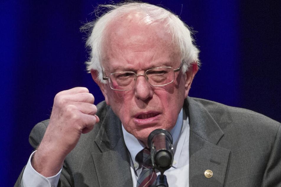 Bernie Sanders bewirbt sich erneut um das Präsidentenamt.