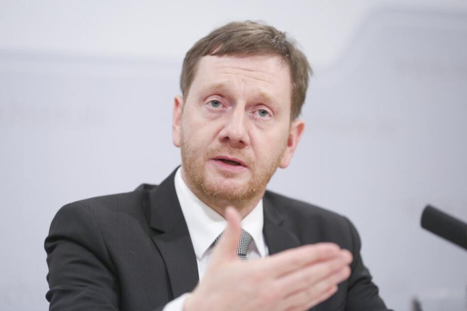 Sachsens Ministerpräsident Michael Kretschmer (43, CDU).