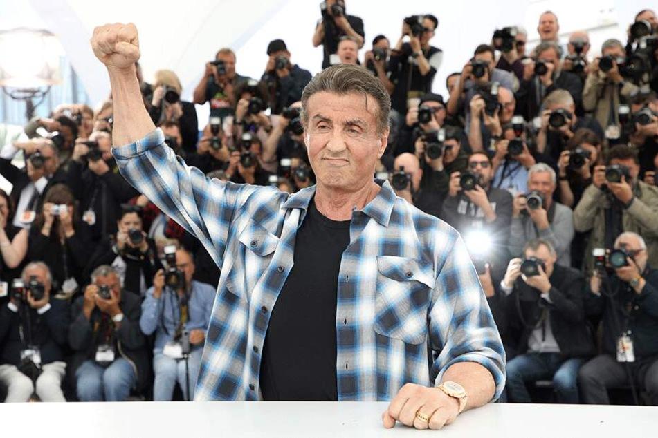 """Sylvester Stallone stellt seinen neuesten Film """"Rambo V: Last Blood"""" im Rahmen der 72. Internationalen Filmfestspiele in Cannes vor."""