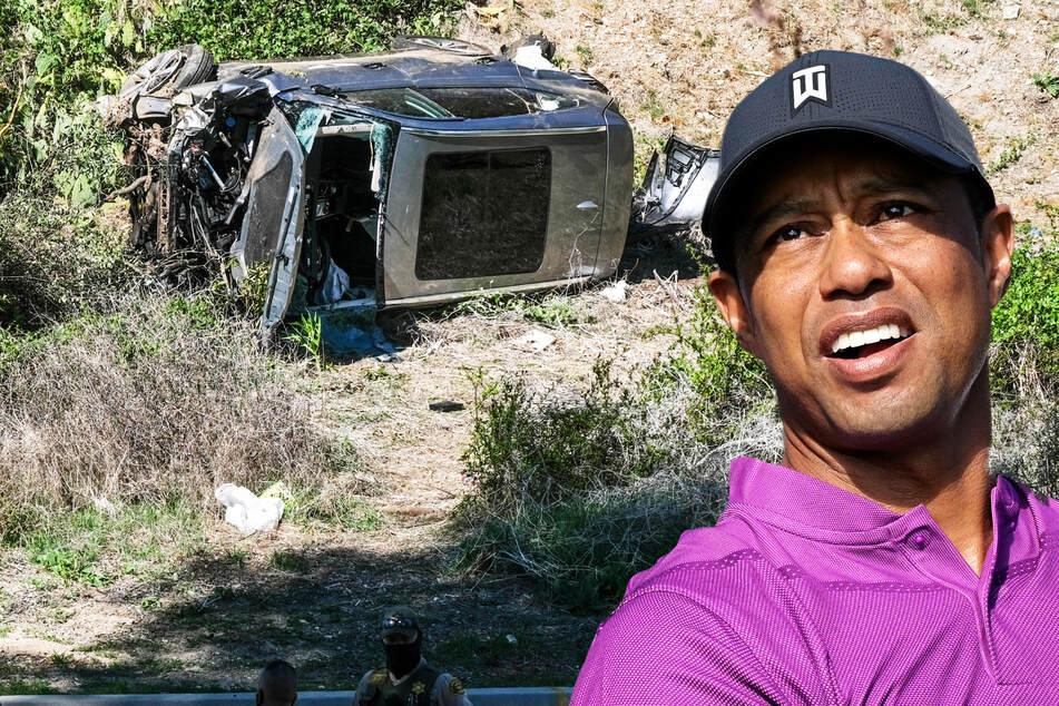 """Tiger Woods hat """"Glück"""" bei Horror-Crash: """"Ansonsten wäre es tödlich gewesen!"""""""