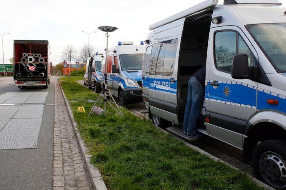 Wegen Kontrollen: Großaufgebot der Polizei auf A4